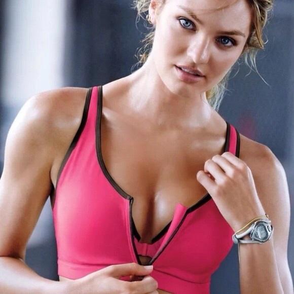 a4a2327b17ecb Victorias Secret VSX Front Close Zip Sports Bra. M 5ad0c01285e6051cecfb4040
